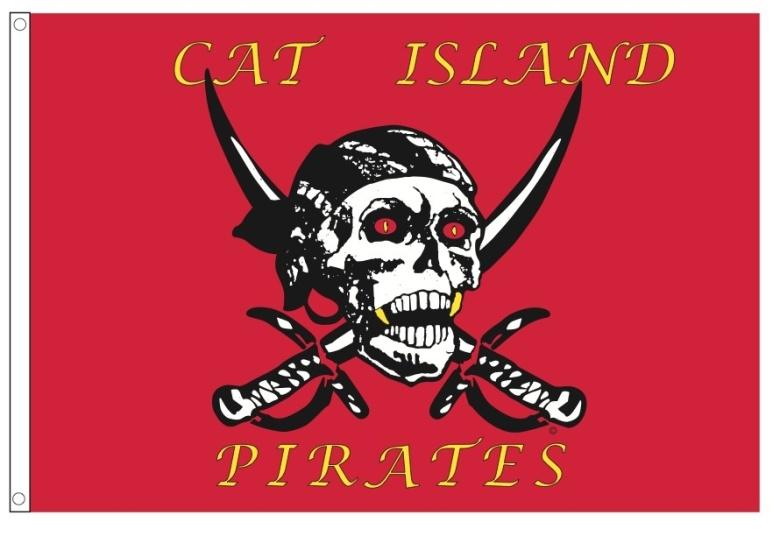 cat island flag